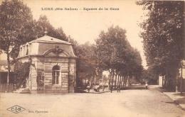 HAUTE SAONE  70  LURE  SQUARE DE LA GARE - Lure