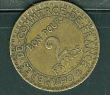 FRANCE BON POUR 2 FRANCS 1925 DOMARD CCF COMMERCE INDUSTRIE  - pia8602