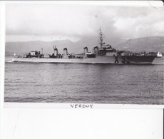 Batiment Militaire Marine Francaise Contre Torpilleur Verdun  Signee Emery Coque X 33 Avril 1942 - Bateaux
