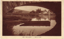 Jura,  Cpa De Port-Lesney, Sous Le Pont ( 14/64) - Autres Communes