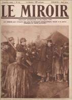 Le Miroir N°67  Du 7 Mars 1915 Le Barde Breton Théodore Botrel Chante Pour Les Soldats Sur Le Front - Riviste & Giornali