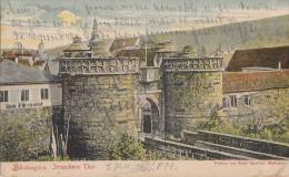 Allemagne - Büdingen - Jerusalemer Thor - Précurseur Postmarked Giessen Gelnhausen 1903 - Wetterau - Kreis