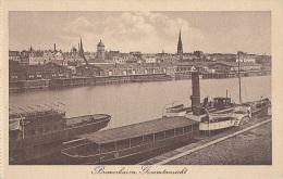Allemagne - Bremerhaven - Gesamtansicht - Port Bâteaux à Roue - Bremerhaven