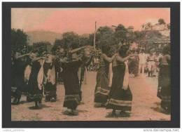 POSTCARD EAST TIMOR LESTE SUAI FOLK DANCE FOLKLORE - Timor Oriental