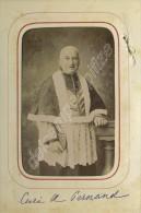 CDV 1890-1900 R. Mutin à Beaune. Curé De Pernand. - Photos