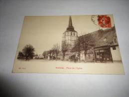 ROSIERES EN SANTERRE Place De L' Eglise - Rosieres En Santerre