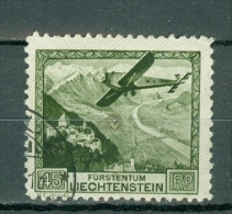 Liechtenstein 1930  Yv  PA 5 (o), Mi 112 (o) Cote € 90,00 - Air Post
