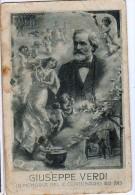 AK ENGEL ANGEL GIUSEPPE VERDI 1813-1913 MUSIK  ALTE POSTKARTEN 1913 - Anges