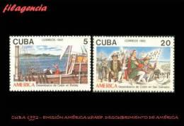 CUBA MINT. 1992-07 EMISIÓN AMÉRICA UPAEP. V CENTENARIO DEL DESCUBRIMIENTO DE AMÉRICA - Cuba