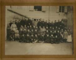 Bologna, Borgo Panigale 1912, Fotografia Scolastica Originale D´epoca Cm. 23 X 17. - Foto