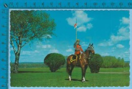 RCMP ( Canadian Mountain Police Cover Sherbrooke P. Quebec Used 1968 ) Postcard  Carte Postale  Recto/verso - Police - Gendarmerie