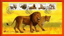 RSA, 1996 Mint First Day Cover Nr. 6-31,  Animals, The Big 5, SACCnr(s) - FDC