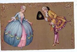 AK PAARE COUPLE COOPIE ART DECO DANCER TANZ SIGNIERT KARTE: COLOMBO, KÜNSTLERKARTE ,.ALTE POSTKARTE 1929 - Couples