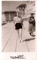 "PORTRAIT Nº 4232 PIN UP FEMME-MUJER-DONNA-WOMEN MAR DEL PLATA ""CASA FOTO ARIS"" ANNEE 1952 NON CIRCULEE GECKO - Pin-Ups"