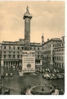 Roma - Piazza Colonna Con La Visione Di Montecitorio - Places & Squares