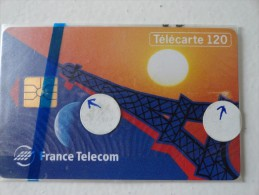 RARE : TOUR EIFFEL MINT CARD 120 UNITS WITH BLISTER - France