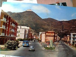 CASSINO ( FROSINONE ) CORSO DELLA REPUBBLICA VIA NAPOLI AUTOBUS AUTO CAR LANCIA   VB1972   EO10177 - Frosinone