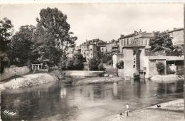 MONT DE MARSAN Vue Sur Le Moulin écrite TTB - Mont De Marsan