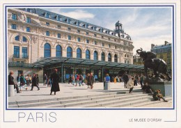 CPM Paris Le Musée D'Orsay - Ancienne Gare Devenue Le Musée D'Orsay, Consacré Aux Oeuvres D'art Fin XIXe S. - Museos