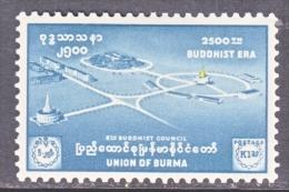 BRITISH  B URMA  162      *  BUDDHIST  COUNCIL - Burma (...-1947)