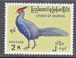 BRITISH  B URMA  186     *   FAUNA  BIRD - Burma (...-1947)