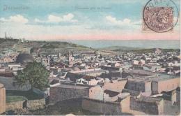 Jerusalem     Panorama Pris De L'ouest           Scan 8972 - Israël