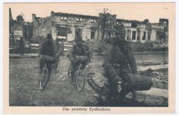 Russia Lithuania Germany 1916 Eydtkuhnen Chernyshevskoye Eitkunai, Konigsberg Kaliningrad Ostpreussen Bike Bicycle - Russia
