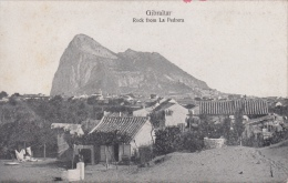 Gibraltar  Rock From La Pedrera           Scan 8994 - Gibraltar