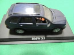 X BMW  X5 DEL PRADO CAR COLLECTIONS 1/43 BASETTA DEDICATA NO BOX - Automobili