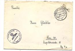 "22883 - Enveloppe Allemande ""Schonbrunn 1941 - Cachet 3. Batterie"" - 2. Weltkrieg"