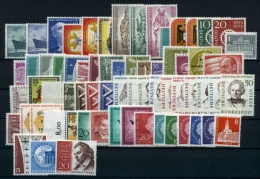 Berlin Jahrgang 1955-1959 Postfrisch/ MNH - [5] Berlino