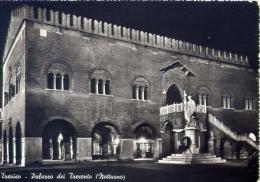 Treviso - Palazzo Dei Trecento - Notturno - 6 - Formato Grande Viaggiata Mancante Di Affrancatura - Treviso