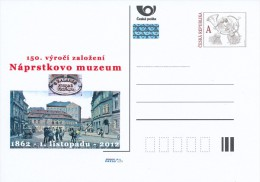Czech Rep. / Postal Stat. (Pre2012/59) The Naprstek Museum Is A Museum Of Asian, African And American Art; 150 Years - American Indians