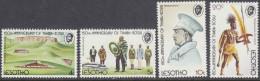 LESOTHO, 1974 THABA-BOSIU 4 MNH - Lesotho (1966-...)