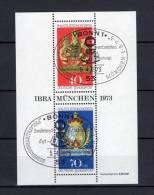 BLOC Deutschland OBLITÉRÉ 1973 Michel : 9 Y&T : 8 - [7] République Fédérale