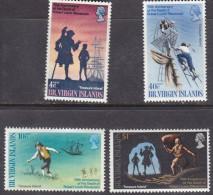 British Virgin Islands, 75th Anniv Of Death Of Robert Louis Stevenson, Set Of 43,  Mnh ** - British Virgin Islands