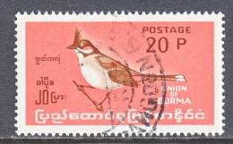 BR. B URMA  203   (o) - Burma (...-1947)