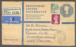 USED COVER  (AS SCAN) - Stamped Stationery, Airletters & Aerogrammes