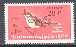 BR. B URMA    0 110    * - Burma (...-1947)