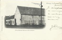 Vieux Manage - Maison Du Père Delfosse - Précurseur  - 1901 ( Voir Verso ) - Manage