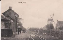 Adegem - Statie  Gare+Moulin   Statie+Molen - Grimbergen
