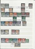 COURS D'INSTRUCTION + SPECIMEN - SUPERBE COLLECTION **/*/oB - COTE IMPORTANTE (>1000 EUROS) - SEMEUSE + BLANC + PASTEUR