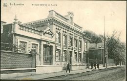 Belgique CP La Louvière (Banque Générale Du Centre)  Expédiée Vers Anvers En 1913 - La Louvière