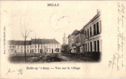 Melle  2 CP  Zicht Op T Dorp  Lippens Pauw Uitgever - Editeurs1902 Van De Berghe  Kerk - Melle