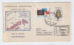 Argentina ANTARCTIC BASE ESPERANZA COVER - Stamps