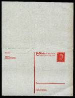 A2941) DR Ganzsache P173I Ungebraucht Verschnitten übermassig - Allemagne
