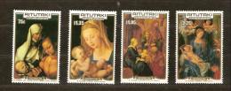 Aitutaki1986 Yvertn° 442-445 *** MNH Cote 12 Euro Noel Christmas Kerstmis Dürer - Aitutaki