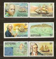 Aitutaki 1974 Yvertn° 107-12 *** MNH Cote 7 Euro Bateaux Boten Ships - Aitutaki