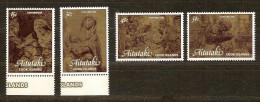 Aitutaki 1981 Yvertn° 304-07*** MNH Cote 5,50 Euro Noel Kerstmis Christmas - Aitutaki