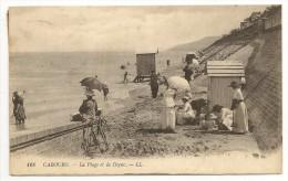 14 - CABOURG - La Plage Et La Digue - éd. LL N° 168 - Cabourg
